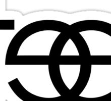 Steez - Black Sticker