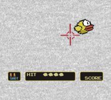 Flappy Bird Hunt One Piece - Short Sleeve