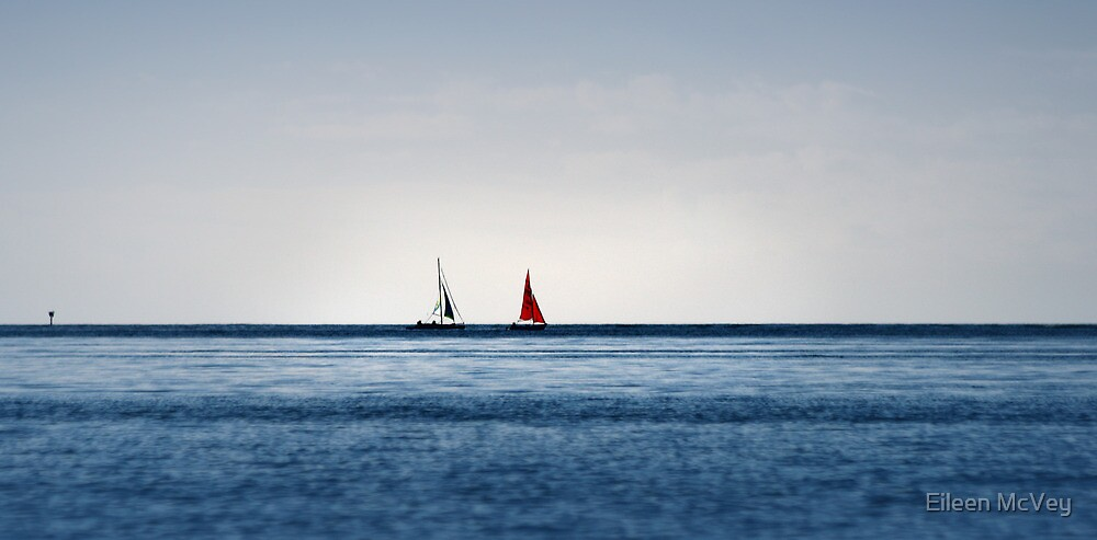 Two Boats by Eileen McVey