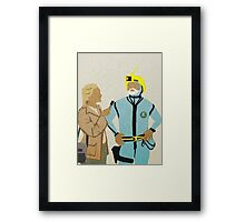Zissou Dance Framed Print