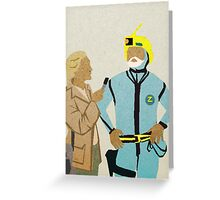 Zissou Dance Greeting Card