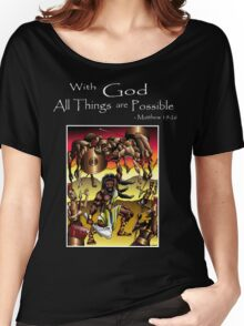 Sampson (With God all things are Possible) Women's Relaxed Fit T-Shirt