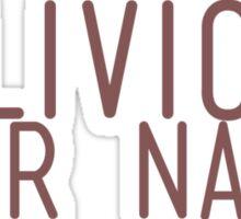 Oblivion. Sticker