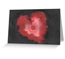 Ink Heart Greeting Card