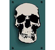 Skull - Sherlock Photographic Print