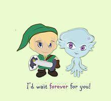Zelda Valentines: Zora Princess Ruto by Alice Edwards