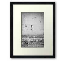 The Traces of Oblivion Framed Print