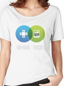 Gaming on the Rocks Women's Relaxed Fit T-Shirt