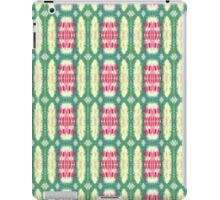 pink and green ovals iPad Case/Skin