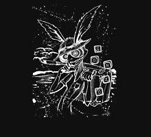 Down The Rabbit Hole (white) Unisex T-Shirt