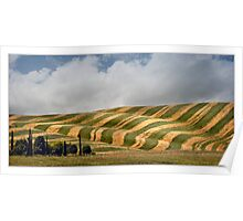 Tuscany art of  farmers I. Poster