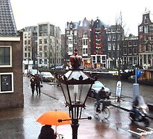 AMSTERDAM STREET BY ANNE FRANK'S HOUSE by gothgirl