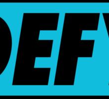 DEFY - Inverted Sticker