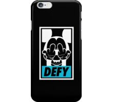 Mickey Says DEFY - Inverted iPhone Case/Skin