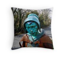 Witch of Pendle Hill Throw Pillow