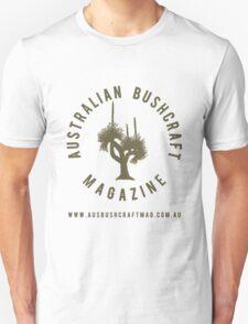 Australian Bushcraft Magazine Logo - olive drab T-Shirt