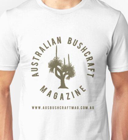 Australian Bushcraft Magazine Logo - olive drab Unisex T-Shirt