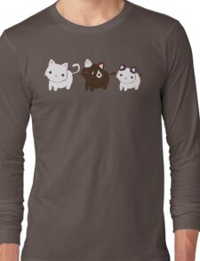 Kitty Trio Long Sleeve T-Shirt