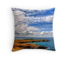 North Tolsta - Isle of Lewis Throw Pillow