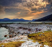 Views To North Harris by English Landscape Prints