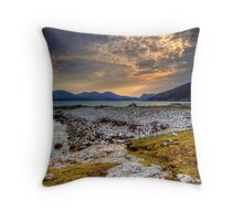 Views To North Harris Throw Pillow