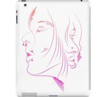 Girls Portrait - 2 iPad Case/Skin