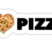 I love pizza Sticker