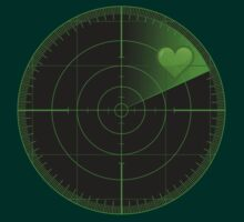 Radar Scanning Heart  by Art-Maniacs