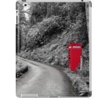 Red Phone Box iPad Case/Skin