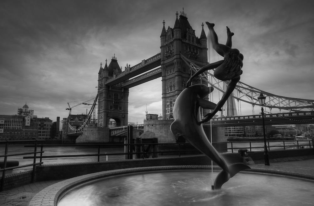 Black and White Bridge by Ursula Rodgers