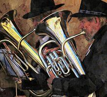 The brass band by Alan Mattison