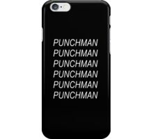Punchman iPhone Case/Skin