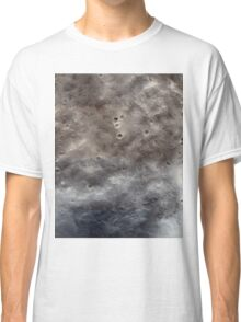 Mars Western Edge Of Marth Crater Classic T-Shirt