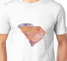 South Carolina Watercolor Unisex T-Shirt