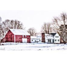 English Barn Photographic Print