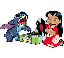Lilo and Stitch listen to music by LikeYou