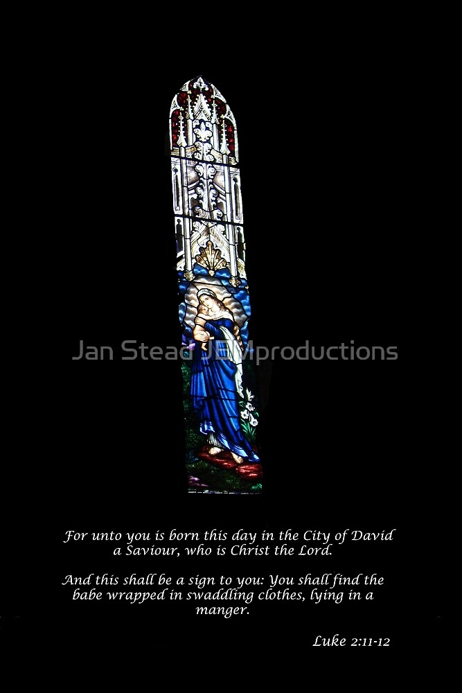 Luke 2 Christmas Card by Jan Stead JEMproductions