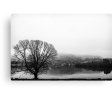 Grasmere in the Mist Canvas Print