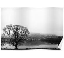 Grasmere in the Mist Poster