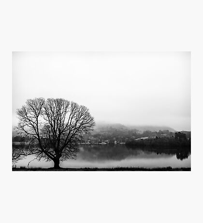Grasmere in the Mist Photographic Print