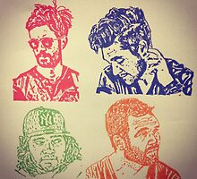 Bastille Pop art by stormleo97