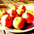 Bowl of Apples- Unique Photography by Vincent J. Newman