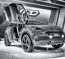 Kia Niro Concept by yellocoyote