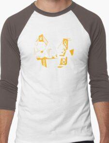 Bay Area Bridges Oakland Edition Men's Baseball ¾ T-Shirt