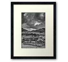 Gathering Storm Framed Print