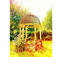 Old Fashioned Gazebo- Unique Photography  Photographic Print