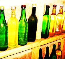 Wine Cellar Bottles- Unique Photography by Vincent J. Newman