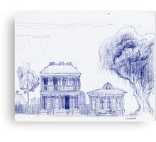 Southern Dream ~ Two Homes Canvas Print