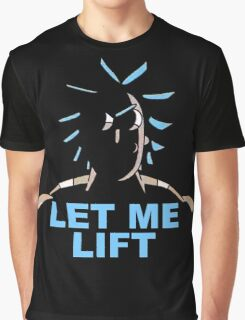 "Rick and Morty - Big Rick ""Let me lift!"" Graphic T-Shirt"