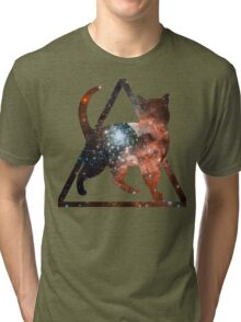Space Pussy Tri-blend T-Shirt